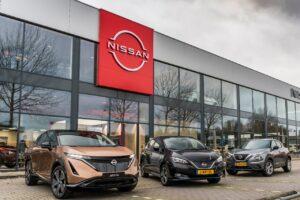 Nissan déploie son nouveau logo dans ses concessions en Europe