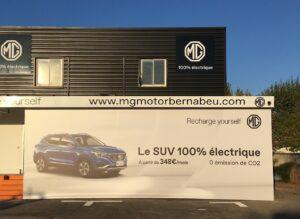 MG vise 5 000 ventes en France en 2021