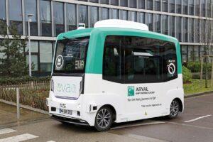 Arval lance des navettes autonomes en Île-de-France