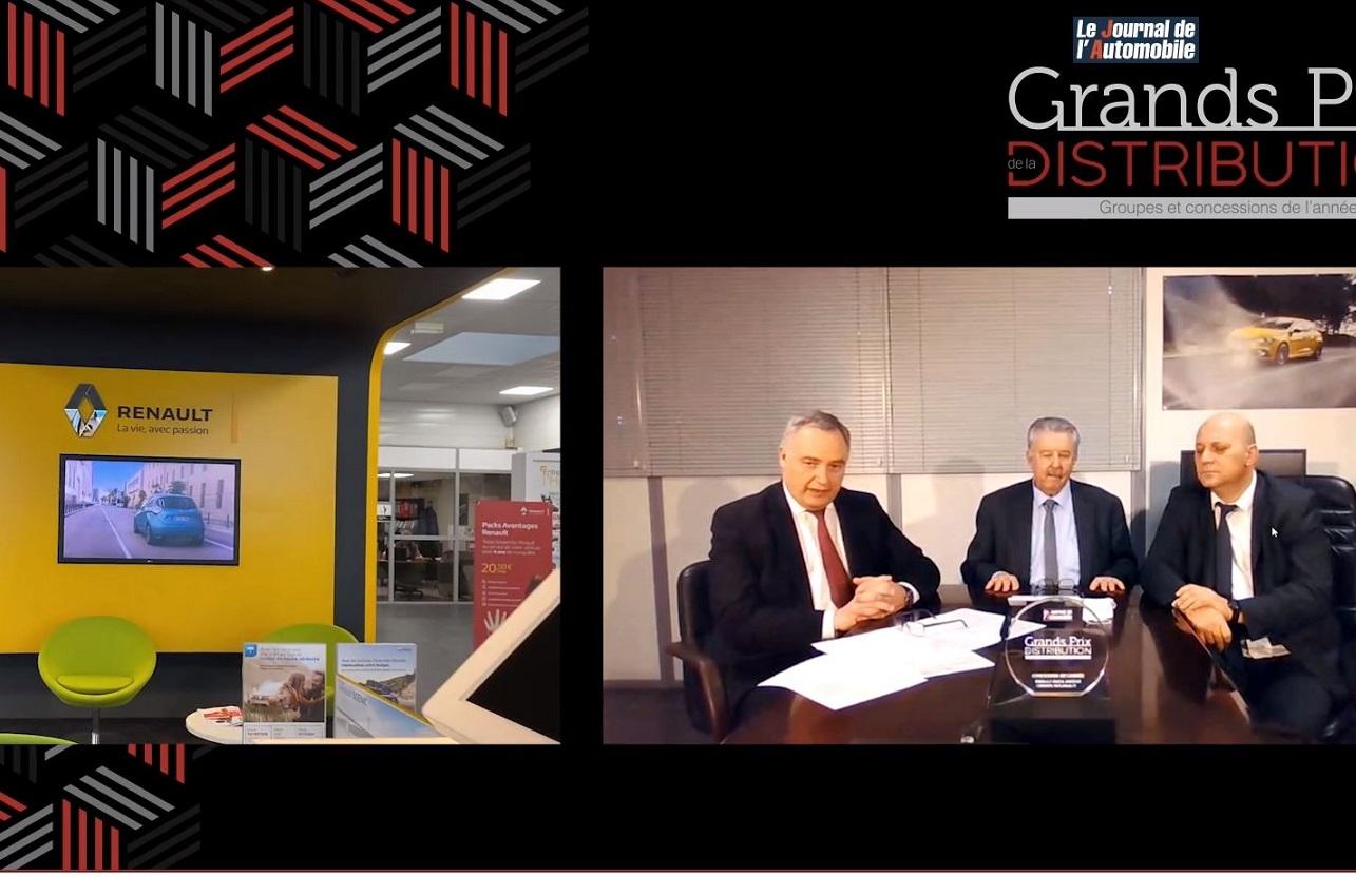 GPDA : Renault à Ancenis, Concession de l