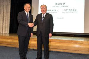 Osamu Suzuki passe la main