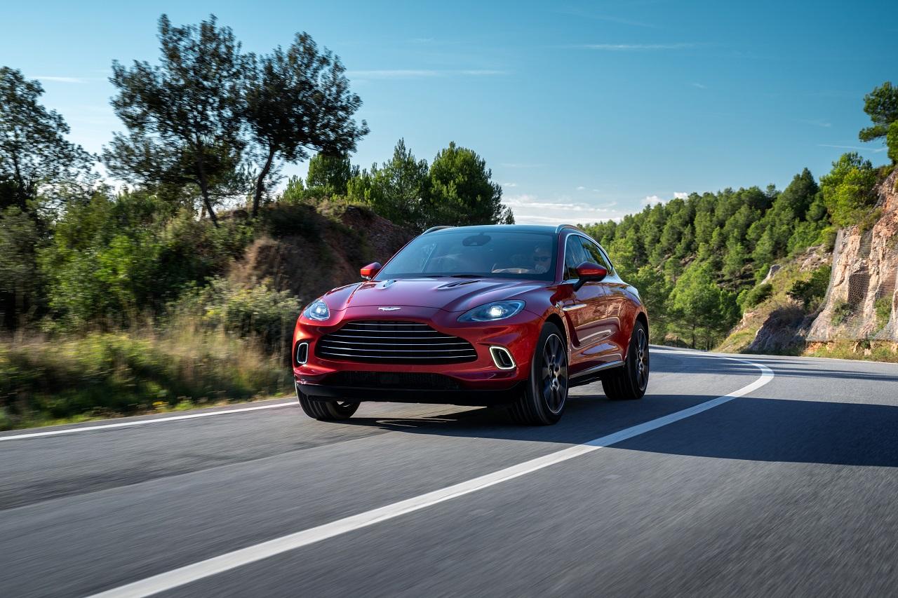 Aston Martin en route pour l'électrification