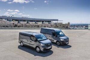 Les Renault Trafic et Master d