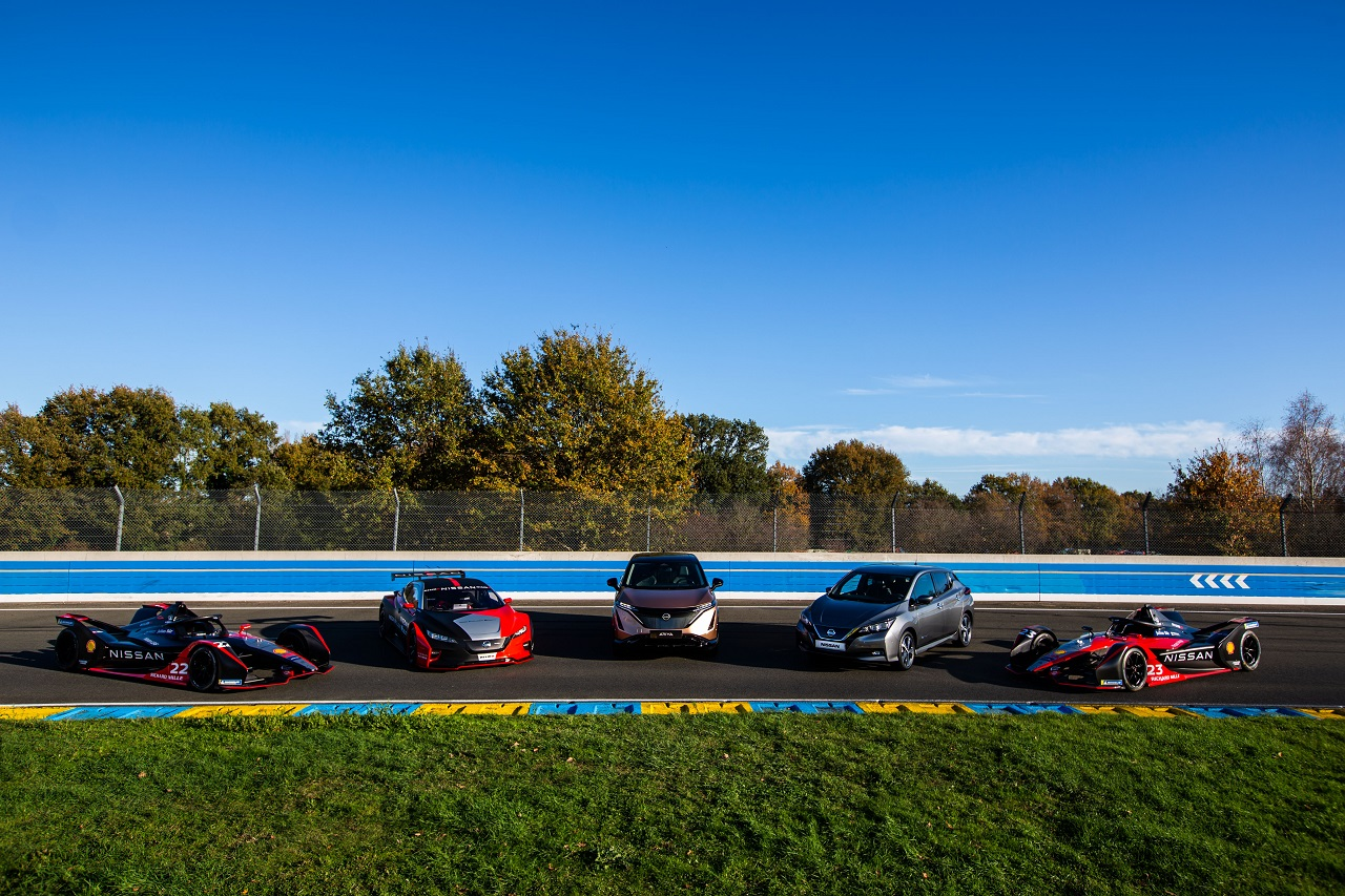 Nissan poursuit son aventure en Formule E