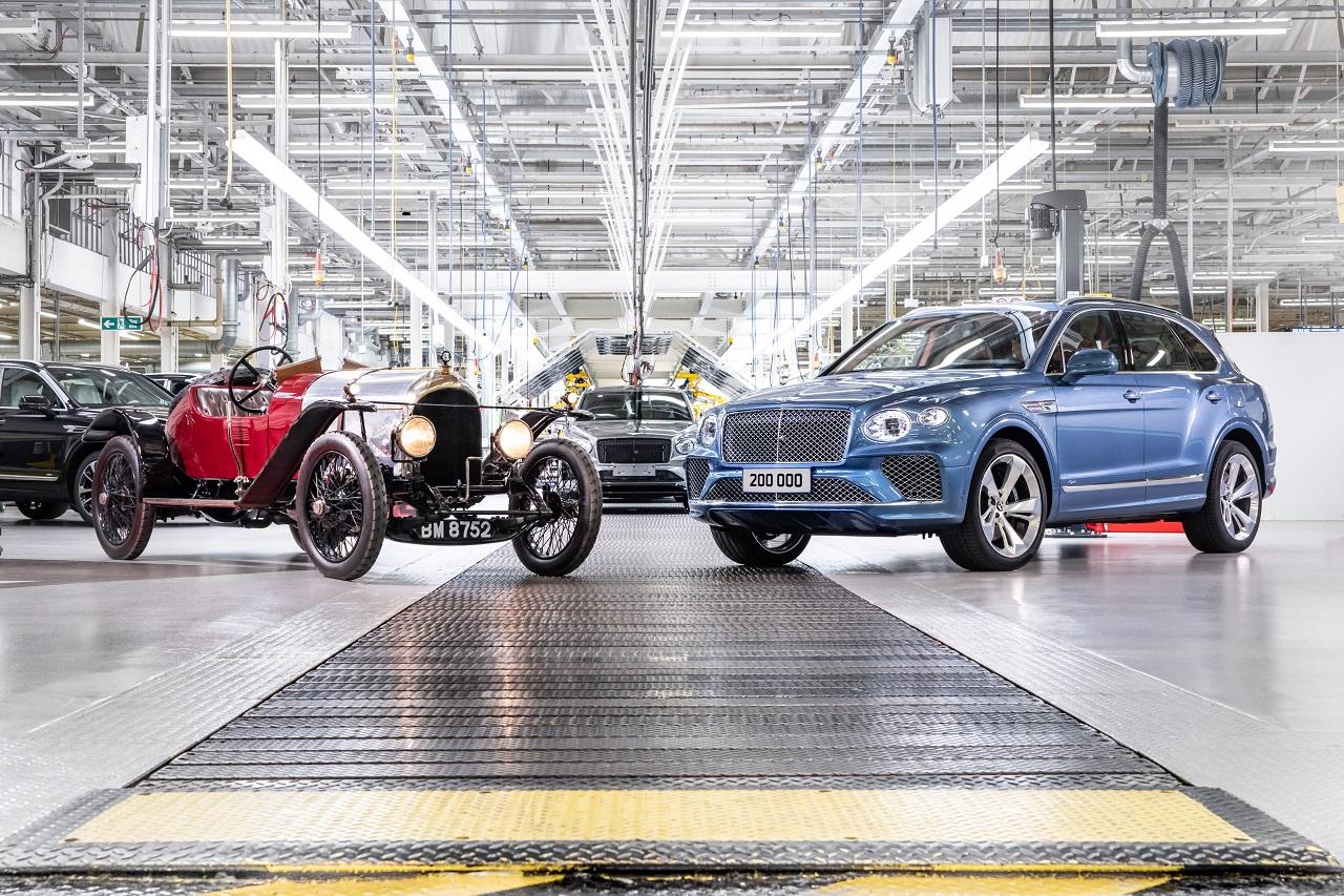 Bentley passe le cap des 200 000 véhicules produits