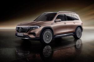 Mercedes-Benz EQB : un SUV électrique familial