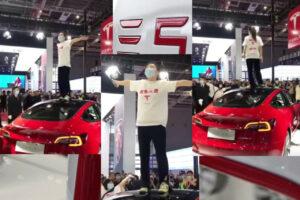 Salon de Shanghai mouvementé pour Tesla