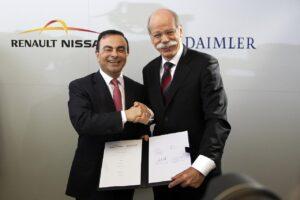 Nissan vend sa participation dans Daimler