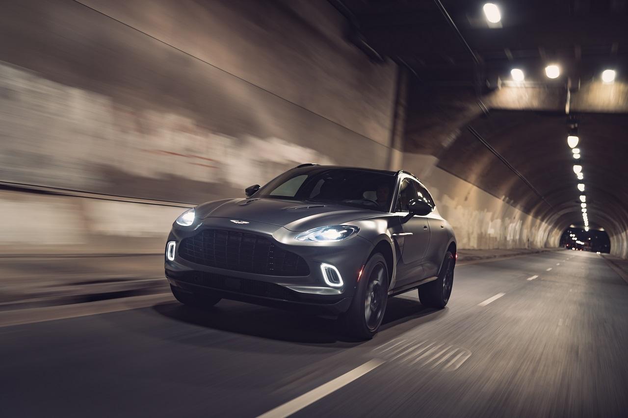 Aston Martin voit le bout du tunnel