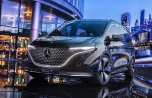 Concept EQT : le nouveau ludospace de Mercedes-Benz