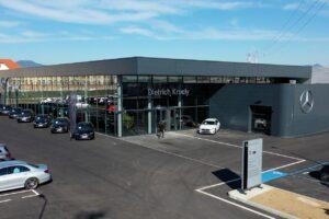 Le groupe Kroely inaugure sa concession Mercedes de Colmar