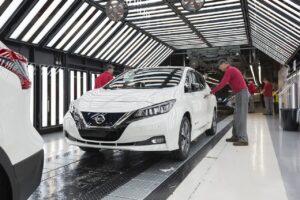 Nissan envisage une usine géante de batteries au Royaume-Uni