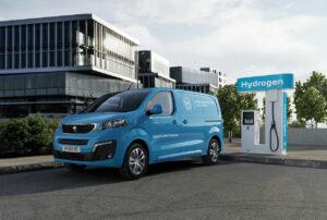 Le Peugeot e-Expert à l'heure de l'hydrogène