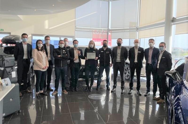 Lexus récompense son réseau