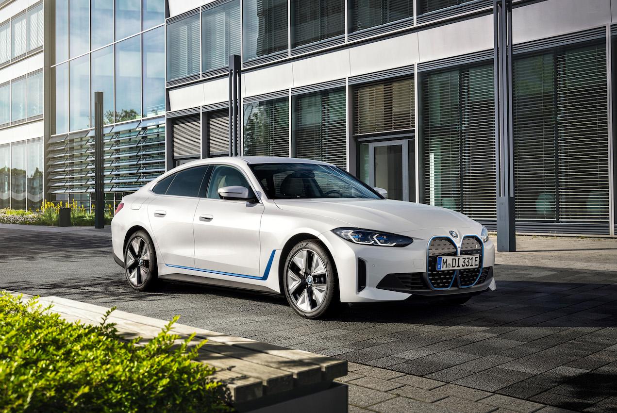 La BMW i4 sur le pied de guerre
