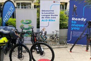Boston Consulting Group reçoit ses premiers vélos ALD