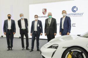 Porsche se lance dans la fabrication de batteries