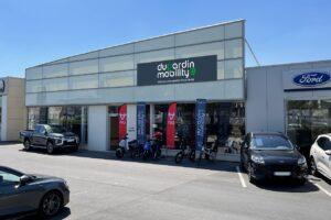 Le groupe Dugardin ouvre son centre de mobilité électrique
