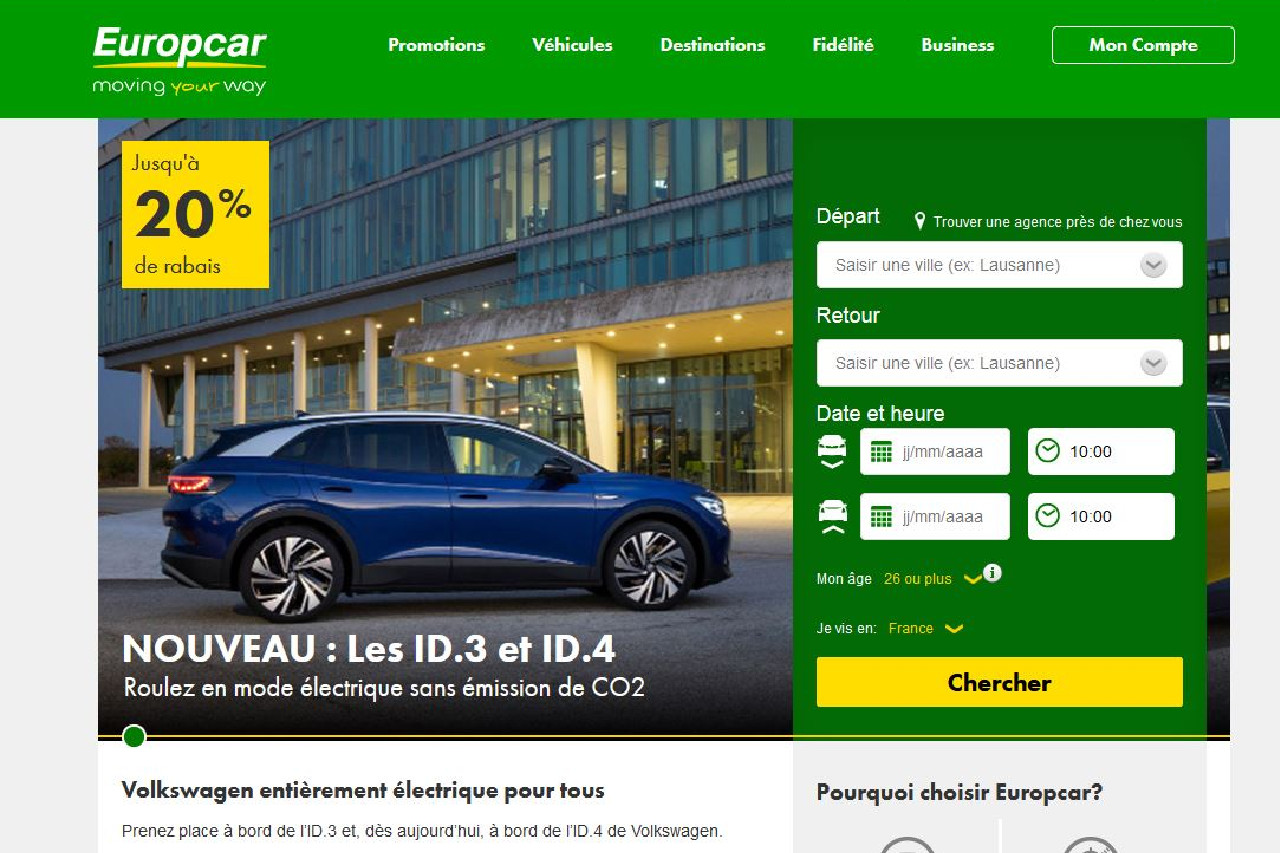Volkswagen confirme son intérêt pour Europcar