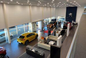 Vers une baisse du stock disponible en concession Peugeot
