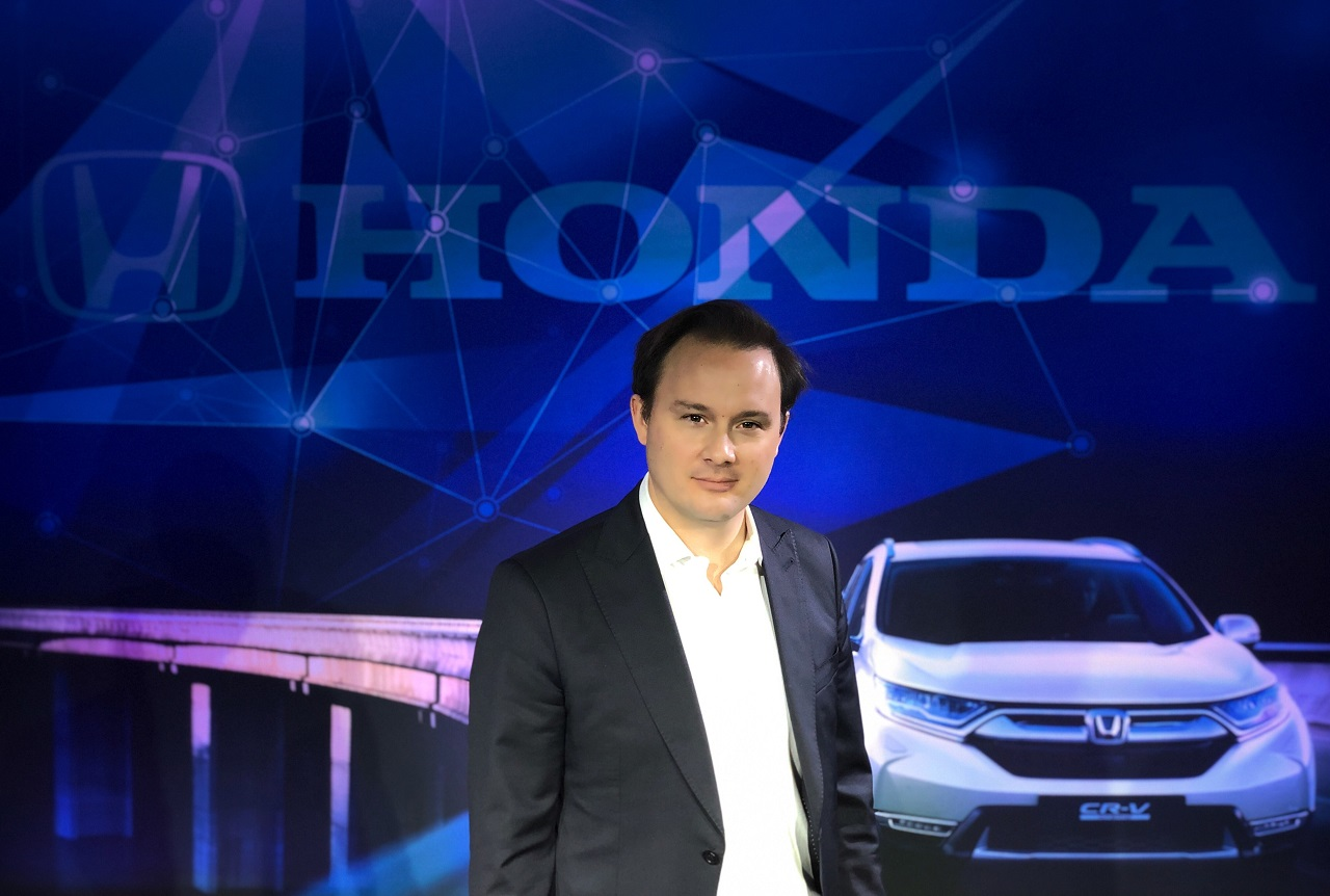 Pour Pierre Guignot, le Honda HR-V permettra de retrouver de la rentabilité