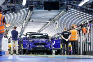 Toyota entame la production de la Yaris Cross à Onnaing