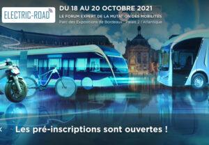 Electric Road de retour en octobre 2021 à Bordeaux