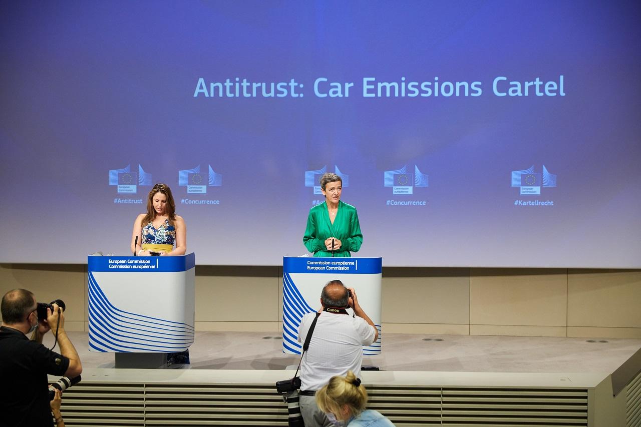 Volkswagen et BMW condamnés pour entente dans le domaine de la dépollution