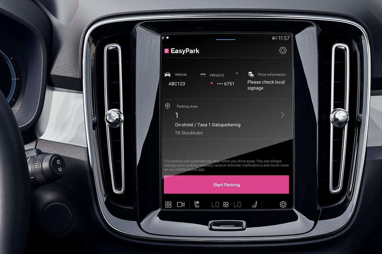 Volvo embarque le stationnement avec EasyPark