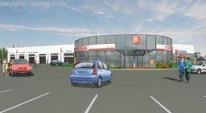 Nouvelle concession Citroën à Saint-Brieuc