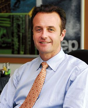 Stéphane Labous, directeur général de Chrysler France.